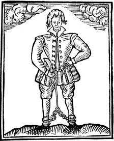 Thomas Nashe woodcut, c.1597